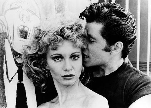 Olivia Newton-John, John Travolta in Grease - best films of all time