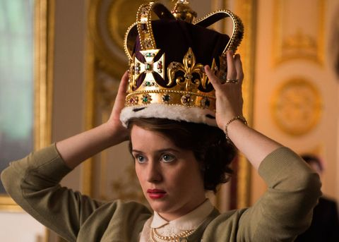 Clare Foy The Crown new netflix series