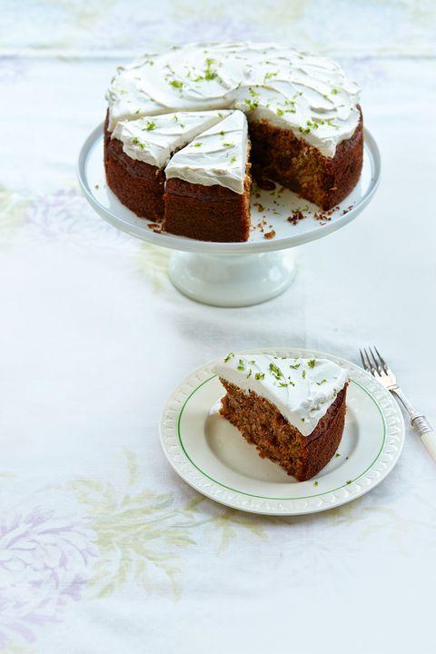 Jo Pratt healthy carrot cake recipe