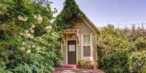 Property, Shrub, House, Door, Real estate, Fixture, Home, Home door, Stairs, Roof,
