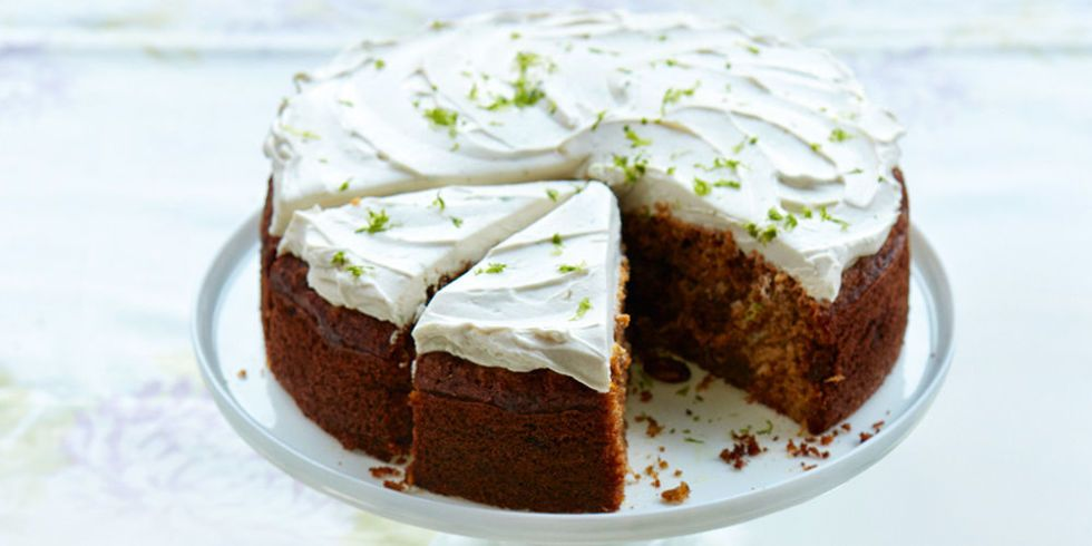 Carrot Cake Recipe Uk Healthy: Jo Pratt's Healthy Carrot Cake Recipe With Coconut-Lime