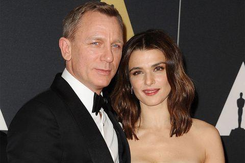 Married couple Daniel Craig and Rachel Weisz