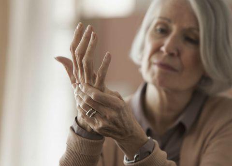 Woman arthritis