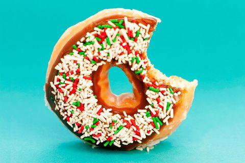 Doughnut and sugar