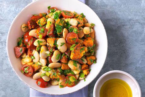 Butterbean Chorizo And Sweet Potato Salad