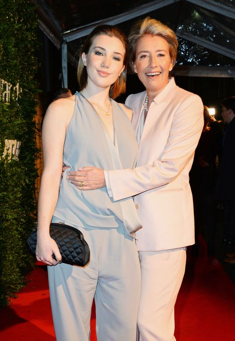Emma Thompson and daughter Gaia at Evening Standard Awards