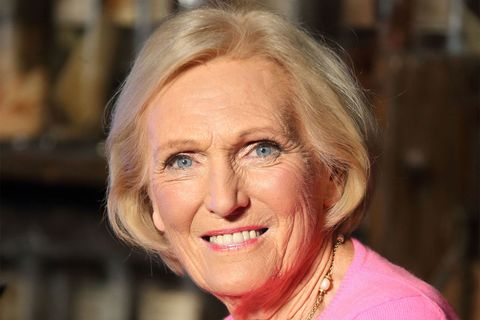 Great British Bake off judge Mary Berry