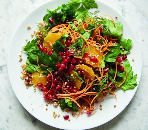 Deliciously Ella pomegranate salad