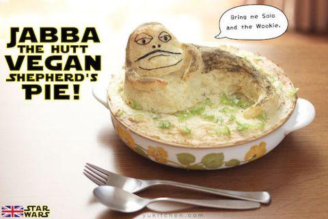 Jabba the Hut shepherds pie