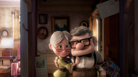 Animation, Interaction, Animated cartoon, Toy, Love, Fiction, Fictional character, Molding, Figurine,