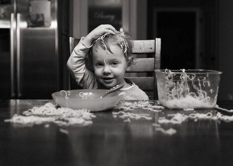 Child spaghetti