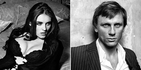 Liz Hurley Daniel Craig