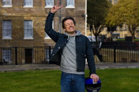Jamie Oliver gets a bit excited about sugar tax