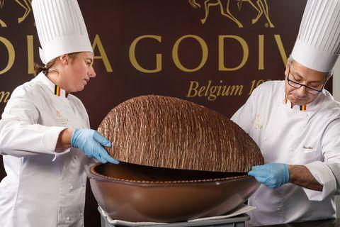 Godiva chocolate easter egg