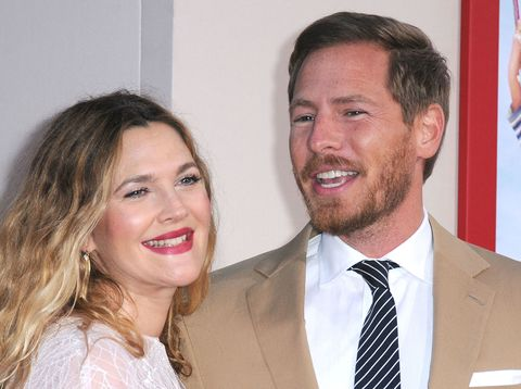 Drew Barrymore and husband