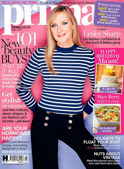 Prima magazine May cover