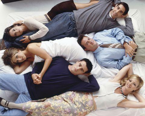 Friends Cast: Jennifer Aniston, David Schwimmer, Matthew Perry, Matt LeBlanc, Courteney Cox, Lisa Kudrow