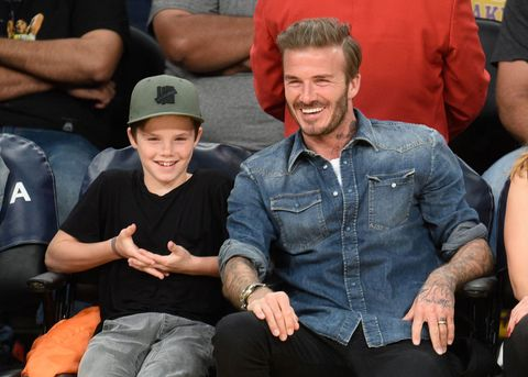 David Beckham Cruz Beckham