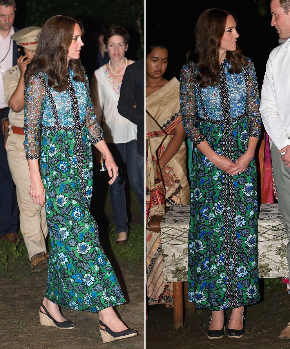 India Fashion Kate Middleton FashionRoyal Tour Picks v0wOmnNy8