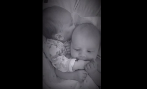 Baby soothing video