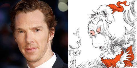 Benedict Cumberbatch, Dr Seuss The Grinch