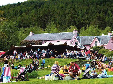 Mhor Festival food festival, Scotland