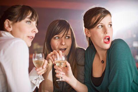 Surprised women