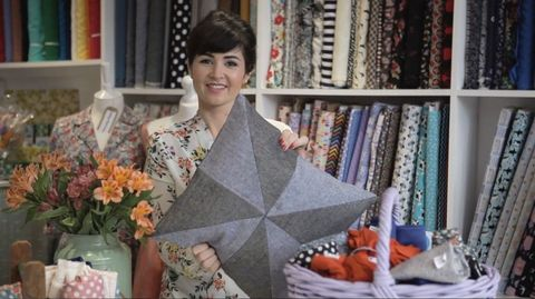 Patchwork cushion free sewing patterns