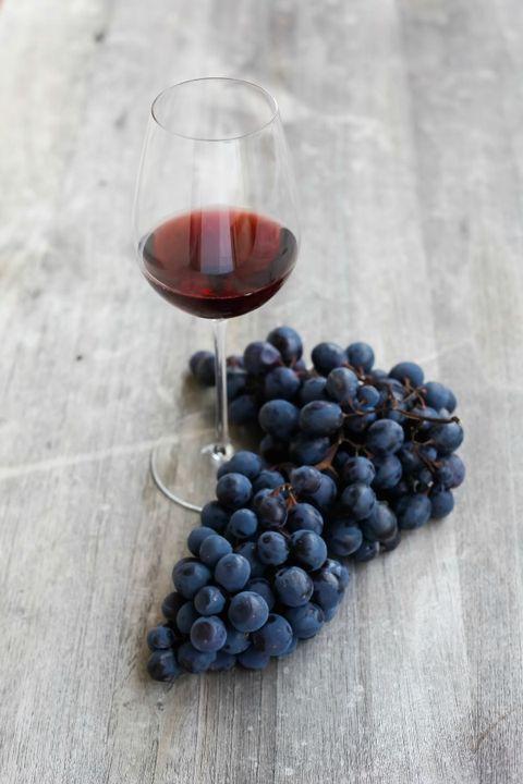 Glass, Drink, Stemware, Wine glass, Fruit, Food, Red wine, Dessert wine, Barware, Seedless fruit,
