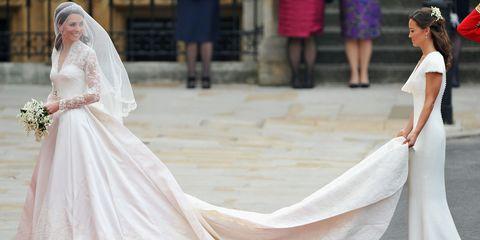 Kate Middleton Pippa Middleton wedding