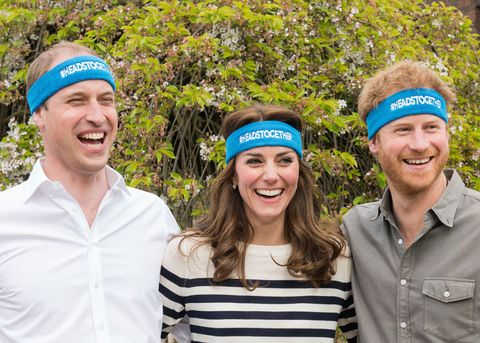 Prince William, Kate Middleton, Prince Harry, Heads Together mental health charity