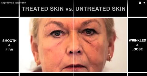 Second skin anti-ageing treatment