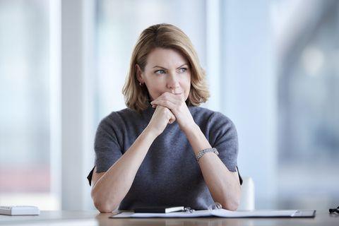 woman worried menopause