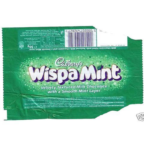 Cadbury's Wispa Mint