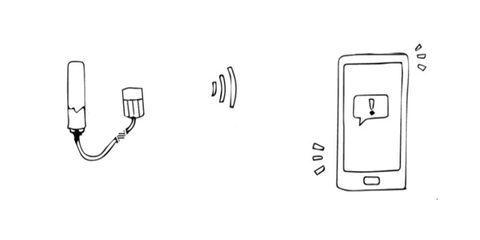 Bluetooth tampon