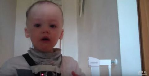 Toddler funny video