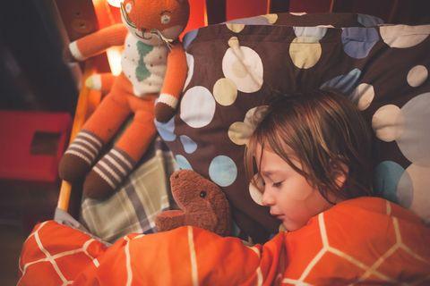 child bedtime summer