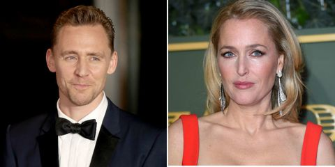 Tom Hiddleston Gillian Anderson James Bond