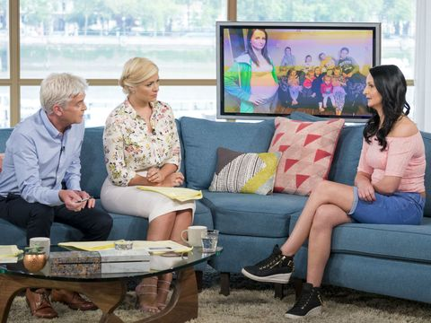 This Morning Holly Willoughby, Philip Schofield, Cheryl Prudham