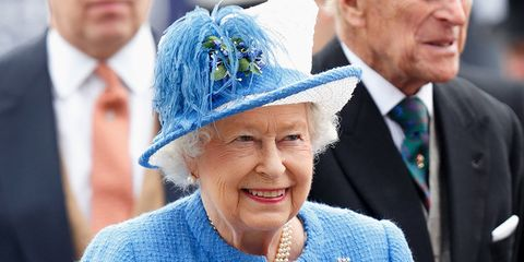 The Queen at Epsom Races, June 2016
