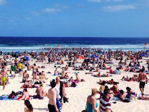 Clothing, Body of water, Fun, Tourism, People on beach, Swimwear, Leisure, Beach, Summer, Ocean,