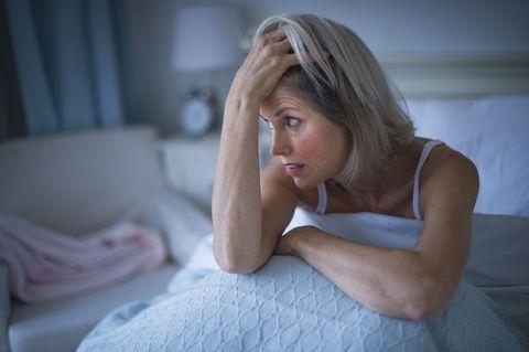 woman night sweats