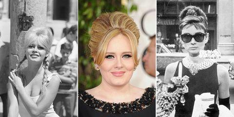 Beehive hair celebrity hairstyles