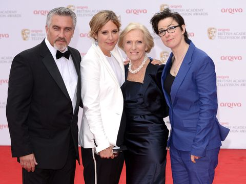 Paul Hollywood, Mary Berry, Sue Perkins, Mel Giedroyc, Great British Bake Off
