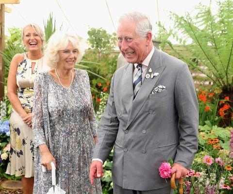 Prince Charles Camilla Sandringham Flower Show
