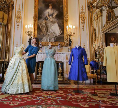 Queen Elizabeth dresses