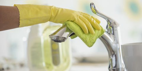 tap cleaning