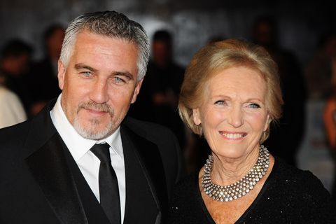 Bake off judges Mary Berry and Paul Hollywood