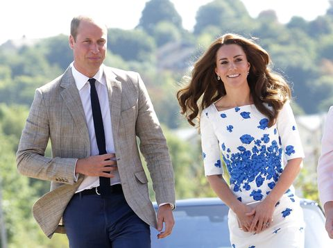 Kate Middleton and Prince William visit Luton