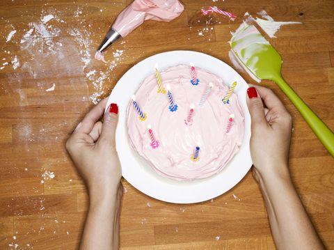 cake making baking